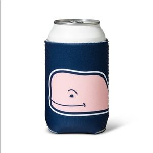VV FOR TARGET NAVY & PINK WHALE CAN HOLDER
